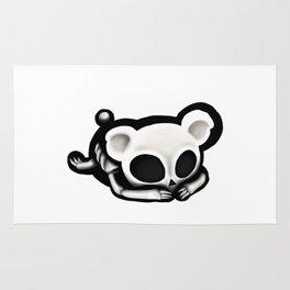 Skeleton bear Rug