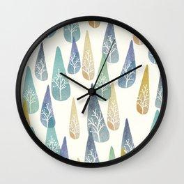 Water Brings Life Wall Clock