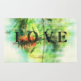 love in the wild Rug
