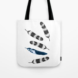 Feather Drift Tote Bag