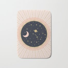 Love in Space Bath Mat