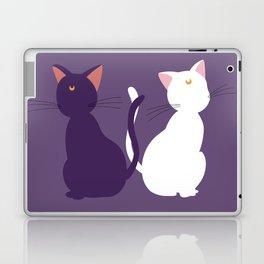 Luna & Artemis (Minimalist) - Purple Laptop & iPad Skin