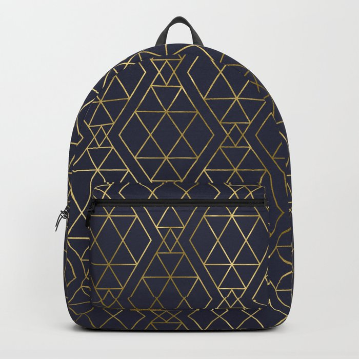 Modern Art Deco Geometric 2 Backpack