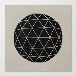 Geodesic Canvas Print