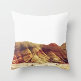 Oregon Painted Hills Throw Pillow