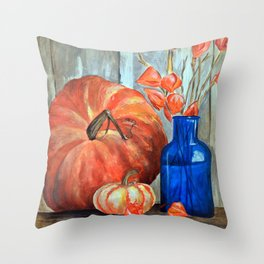 It's Fall Y'all! Throw Pillow