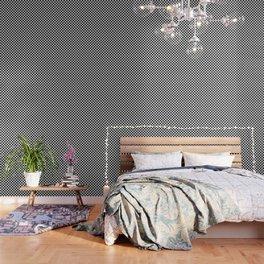 Black and White Checkerboard Pattern Wallpaper