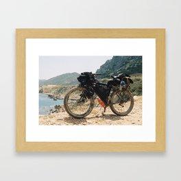 The Kyrenia Mountains Framed Art Print