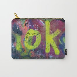 Say that you love me. Carry-All Pouch