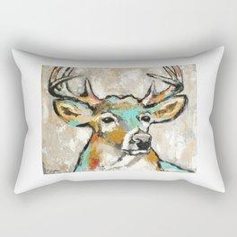 Buck, Deer Rectangular Pillow