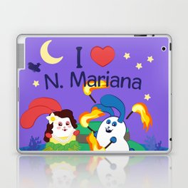 Ernest & Coraline | I love Northern Mariana Islands Laptop & iPad Skin