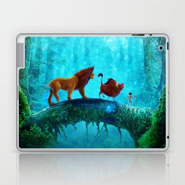 King Of Jungle Laptop & iPad Skin