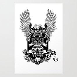 War God Art Print