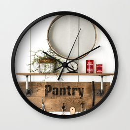 Pantry Shelf - tall Wall Clock