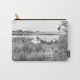 Walkway To The Basin Carry-All Pouch