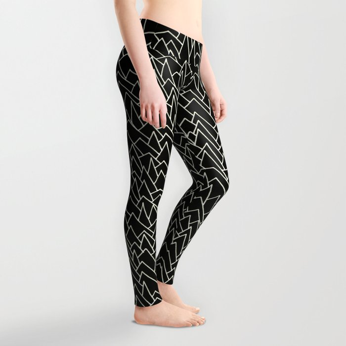 BW pattern 20 Leggings