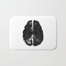 Inkblot Brain Bath Mat