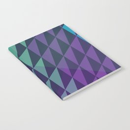 Square Dusk Crystals Notebook