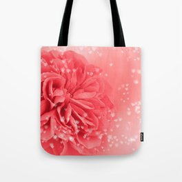 A Touch of Love - Pink Rose with Hearts #1 #art #society6 Tote Bag