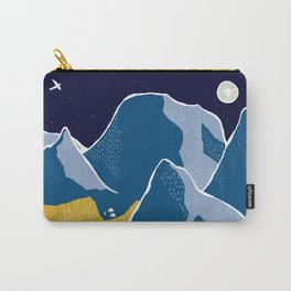 Say goodnight to the mountains Carry-All Pouch