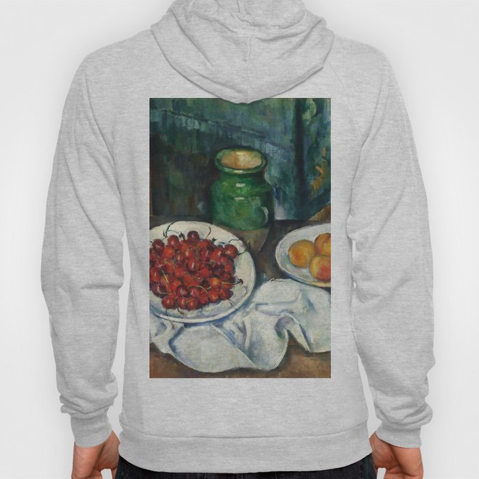"""Paul Cezanne """"Still Life with Cherries and Peaches"""" Hoody"""