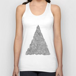 The Temple of Temples Unisex Tank Top