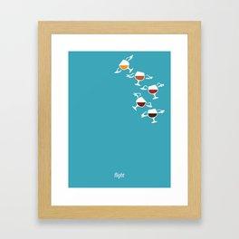 Beer: Flight Framed Art Print