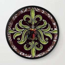 NEON BEETLE Wall Clock