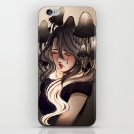 Inky cap iPhone Skin