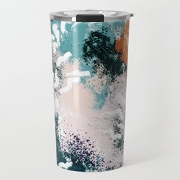Clara Abstract Travel Mug
