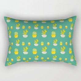 Greeny Cactus Rectangular Pillow