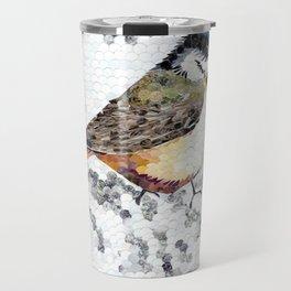 Chickadee Hole Punch Travel Mug