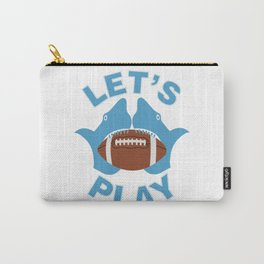 Let's play football Carry-All Pouch