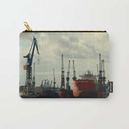 Ship In Dry Dock Carry-All Pouch