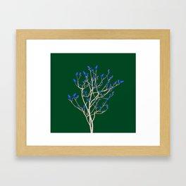 Chick's tree Framed Art Print