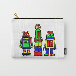 Three Robots Carry-All Pouch