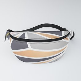 Geometry Gold 047 Fanny Pack