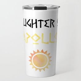 daughter of apollo Travel Mug