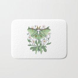 Metamorphosis - Luna Moth Bath Mat