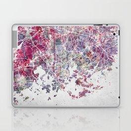Helsinki Map Laptop & iPad Skin
