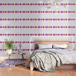 purple lips Wallpaper