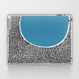 Abstract Blue Lake Laptop & iPad Skin