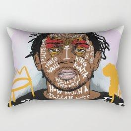 Kendrick Lamar Rectangular Pillow