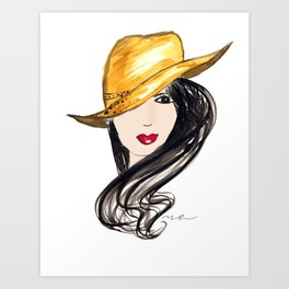 Molly Art Print