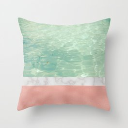 Dip II Throw Pillow