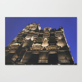 Hotel in Budapest Canvas Print