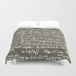 Math Duvet Cover