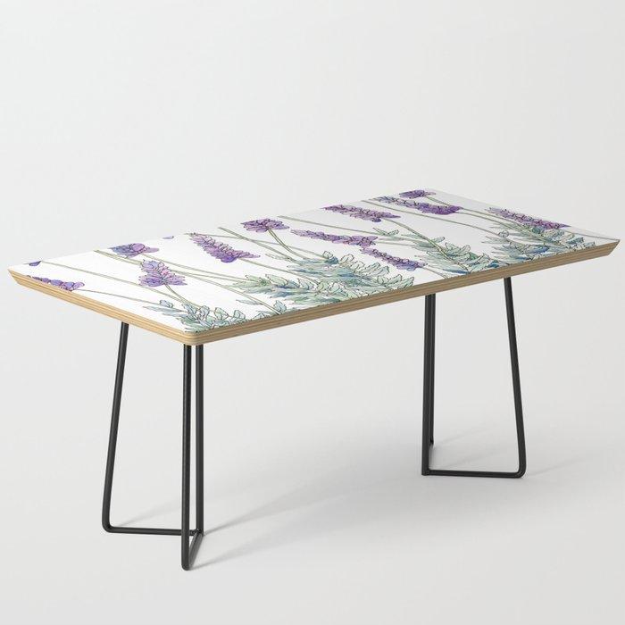Lavender, Illustration Coffee Table