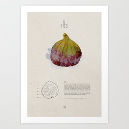Il Fico Art Print