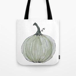White Pumpkin Tote Bag